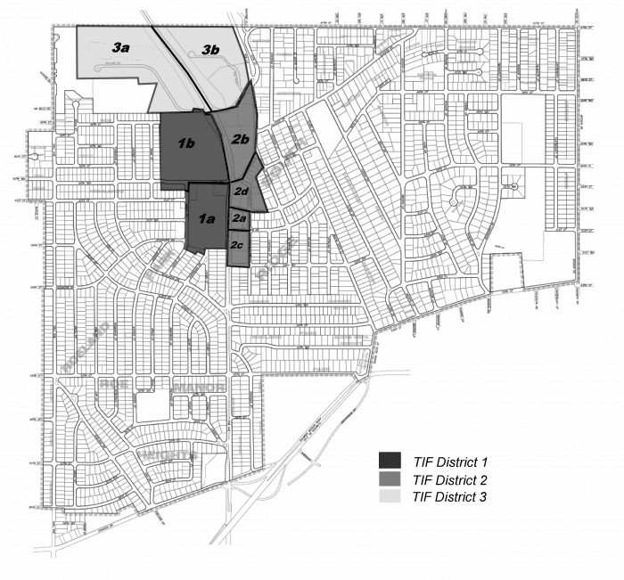 Redevelopment District Map - 2014
