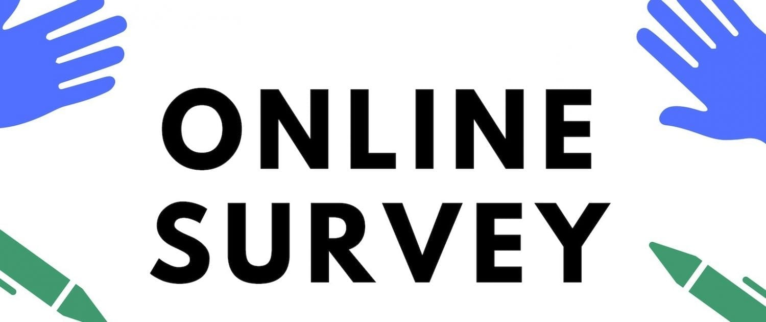 Online survey sign